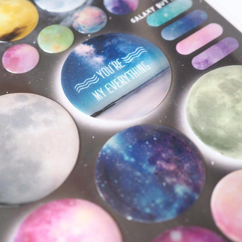 My Space sticker